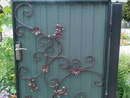 Ворота, калитки изготовление