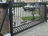 Ворота, калитки, оконные решетки изготовление, монтаж - фото 2