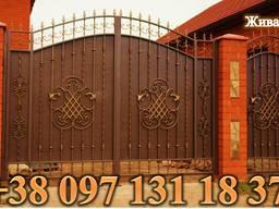 Ворота, калитки, оконные решетки, заборы, козырьки, навесы, откатные Мариуполь