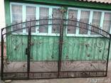 Ворота кование - фото 2
