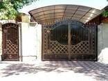 Ворота кованные, гладкие, распашные, откатные, гаражные - фото 5