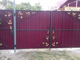 Ворота кованые, калитки, заборы, решетки