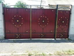 Ворота , заборы, калитки из профнастила