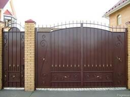Ворота кованые - металлические! Калитки хфіртки! Заборы