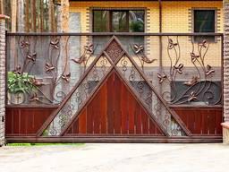Усиленные ворота, решетки на окна, автонавесы, калитки, заборы, двери