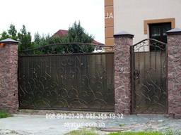 Ворота металлические P1
