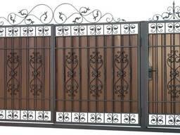 Ворота, металлоконструкции, ковка.