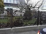 Ворота , огорожі, сходи металічні - фото 1