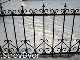 Ворота, ограждения, козырьки над входом (крыльцом)вольеры и т. - фото 4