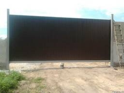 Ворота откатные, распашные, гаражные, промышленые и др.