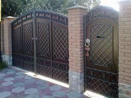 Ворота откатные, роспашные. автоматические