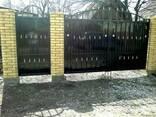Ворота Перила Решетки Оградки - фото 2