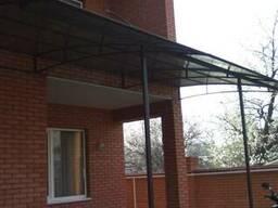 Ворота , двери металличес, навесы, лестницы - фото 3