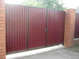 Ворота распашные от ЧП Теряник - фото 3