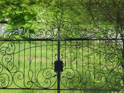 """Ворота решетчатые. """"Броневик"""" Днепр."""