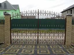 Ворота,решетки,перила,заборы,навесы,козырьки