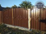 Двери, решетки, навесы, козырьки, ворота, калитки - фото 1