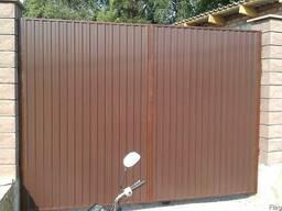 Ворота въездные, ворота гаражные