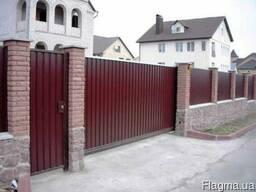 Ворота! Ворота: распашные, откатные, гаражные.