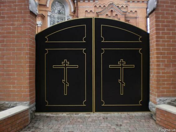 Ворота заборы.