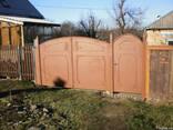 Ворота заборы. - photo 2