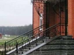 Ворота, заборы, лестницы, балконы сварные и кованые в Киеве.