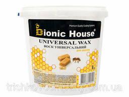 Воск для дерева универсальный Bionic-House 1л Безцветный