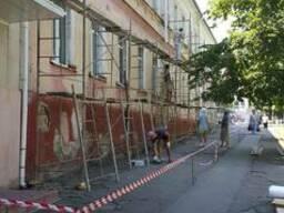Восстановление и отделка фасадов