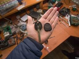 Востановить ключи от машины