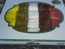 Восточные сладости рахат-лукум, лукум
