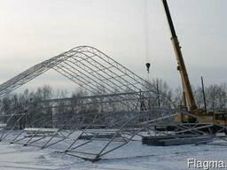 Строительство крытых зимних теннисных кортов