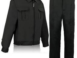 Костюм охранника, спецодежда, рабочая одежда.