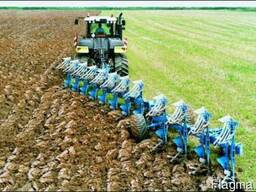 Вспашка дисковка оранка культивация обработка земли услуги