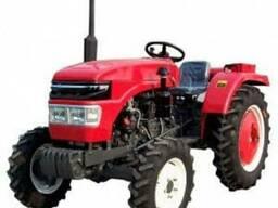 Вспашка земли мини трактором