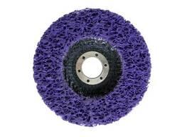 Вспененный абразив синтетический на платформе Рамболд - 125 x 10 мм фиолетовый (125. ..