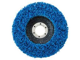 Вспененный абразив синтетический на платформе Pilim - 125 x 10 мм синий (KKS-15115)