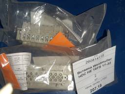 Вставка Weidmuller HDC HE 16FS 17-32
