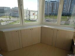 Встроенная Мебель на Балкон