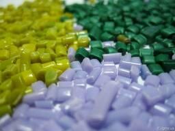 Вторичная гранула ПНД/HDPE и ПВД/LDPE высокого качества