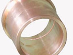 Втулка бронзовая БрОЦС труба 65х45, бронзовая заготовка,