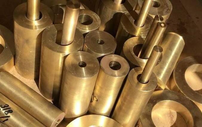 Втулка бронзовая диаметром 40мм марки БрКМЦ