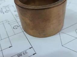Втулка бронзографит 60х50х40 мм. порошковая.