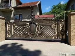 Вуличні ворота і калітки