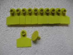 Вушна бірка безномерна D 42*49 мм (свині)