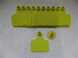Вушна бірка безномерна С 58*70 мм (ВРХ)