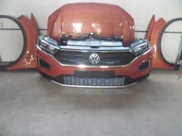 VW T-roc бампер фары радиатор капот крылья