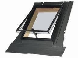 Выход-окно на крышу FAKRO WSH с окладом 54x75см