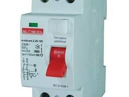 Выключатель дифференциального тока, 2р, 16А, 10мА (pro)