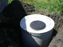 Выкопаем сливную яму, септик под ключ в Харькове и области.
