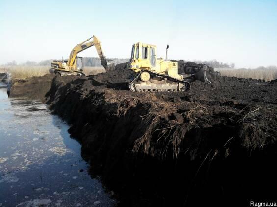 Выкопать очистить озеро пруд водоём